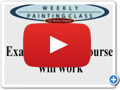 Weekly Painting Class : How It Works